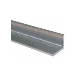 Kątownik aluminiowy 25x25x2.Dług. 0.5 mb
