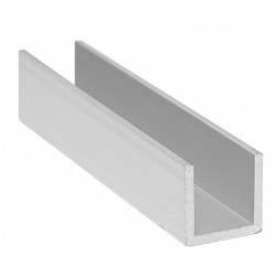 Ceownik aluminiowy 40x20x2.Dług.1.0 mb